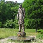 Памятник Ф.М. Достоевскому в Баден-Бадене