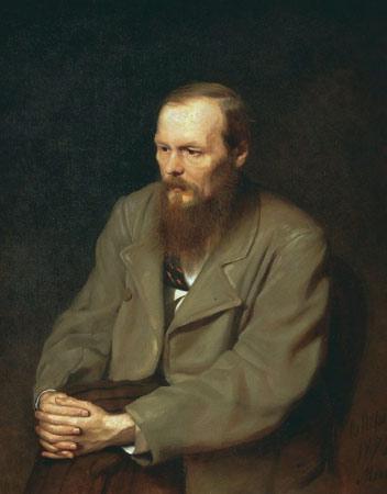 Перов, портрет Достоевского Ф.М.