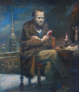 Портрет Достоевского. О.А. Литвинова.