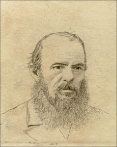 Л.Е. Дмитриев-Кавказский. Портрет Ф.М. Достоевского (1880)