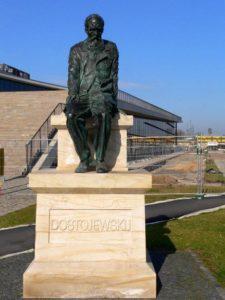Памятник Ф.М. Достоевскому в Дрездене