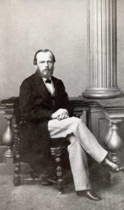 Ф.М. Достоевский. 1861. Фотография М.Б. Тулинова